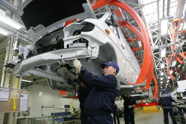 The BMW plant will be located in the Kaliningrad region